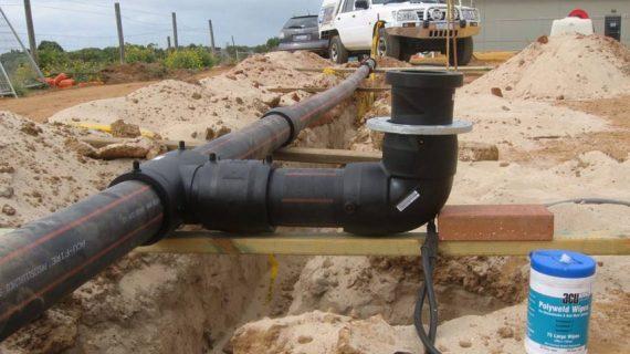 تعمیر لوله پلی اتیلن بدون نیاز به جوشکاری: روش دکتر پایپ