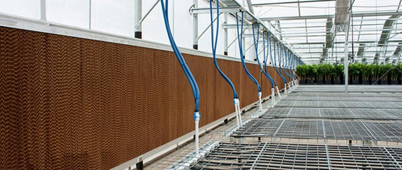 لوله کشی گلخانه:لوله و اتصالات سیستم های گرمایش گلخانه ای
