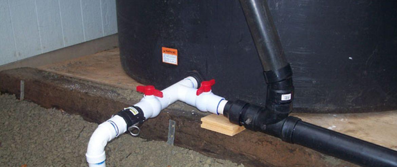 نحوه لولهکشی مخزن آب یا منبع تحت فشار پمپ آب