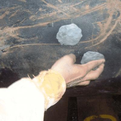 تعمیر نشتی لوله با خمیر اپوکسی